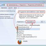 firefox komplett deinstallieren windows freeware tool mozilla löschen entfernen