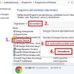 Google Chrome restlos deinstallieren