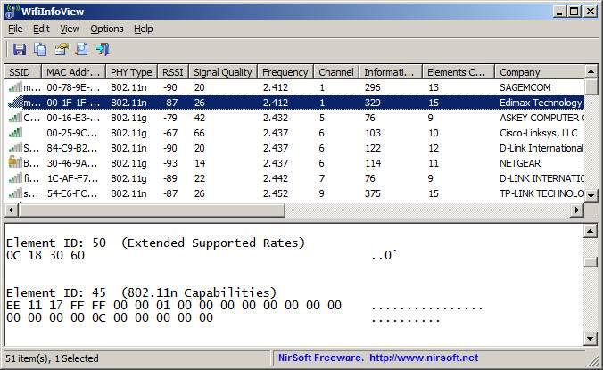 WLAN Signalstärke messen Kostenloses Freeware Tool