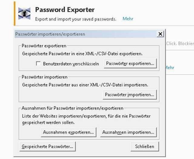 Passwörter In Firefox Auslesen