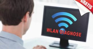 wlan signal messen signalstärke diagnose tool freeware windows kostenlos