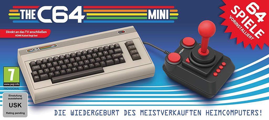 Retro Games Ltd bringt Computerlegende C64 zurück mit 64 Spielen und Joystick TheC64Mini